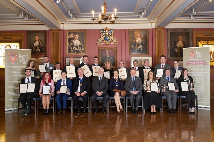 Institute of Meat and Worshipful Company of Butchers Prize-giving is a Royal Celebration